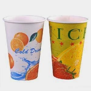 Картонени чаши за студени напитки