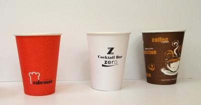 Картонени чаши за топли напитки 12oz/360ml