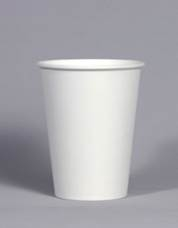 Generic design paper cups 14oz/360ml Plain white