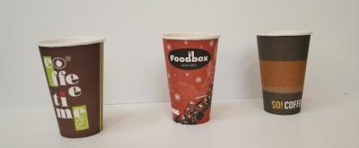 Картонени чаши за топли напитки 16oz/450ml