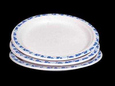 Хартиени чинии (еко чинии) 17см, 24см, 30см; <br/> купа за супа 450мл 17см Картонени чинии чайнет